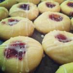 rasberry thumbprints