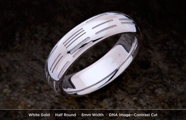 DNA Wedding Band