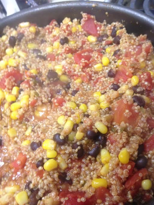 easy mexican quinoa6