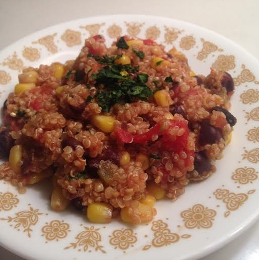 easy mexican quinoa7